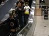 Marche.fr - Vidéo : Blonde et escalator