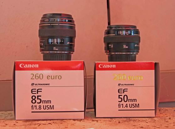 vente d'objectif Canon