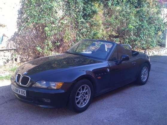 VENDS BMW Z3 ROADSTER NOIRE TBE 88600 KM