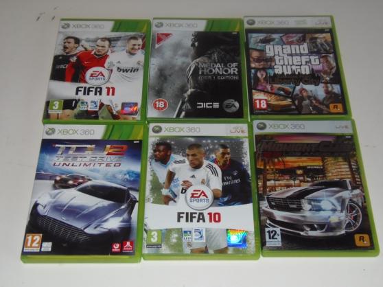 Xbox 360 avec jeux