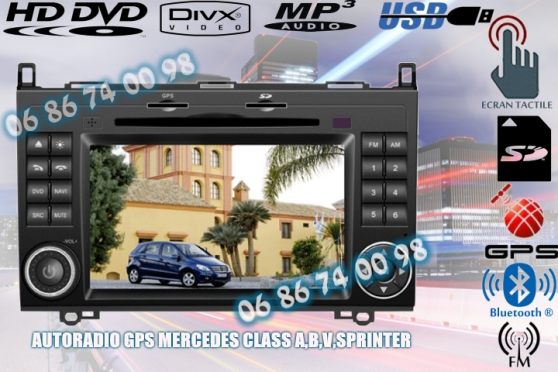 Annonce occasion, vente ou achat 'AUTORADIO GPS MERCEDES CLASS A'