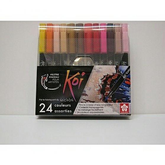 Annonce occasion, vente ou achat 'Étui 24 feutres pinceaux'
