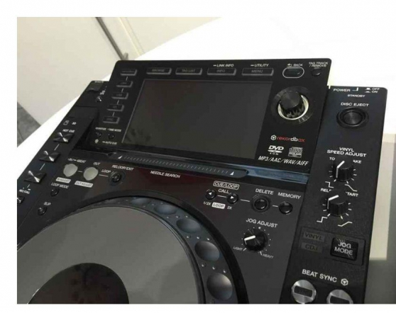 2x Pioneer cdj 2000 Nexus + rca + rj45 - Photo 3
