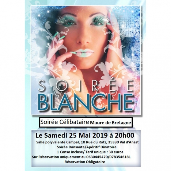 Annonce occasion, vente ou achat 'SOIREE CELIBATAIRE - MAURE DE BRETAGNE'