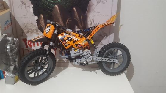 Annonce occasion, vente ou achat 'Lego technic la moto cross'