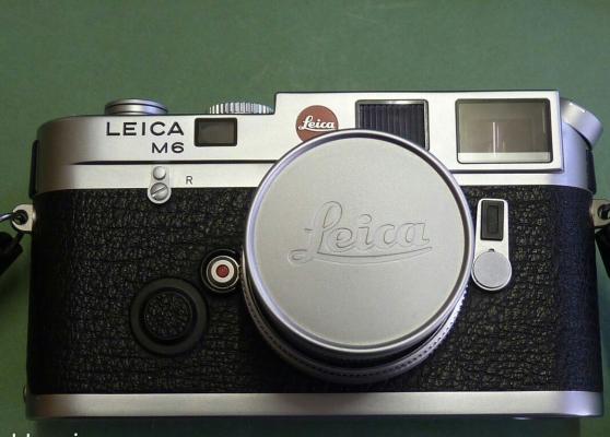 Annonce occasion, vente ou achat 'Leica M6 avec Elmar M 50mm'