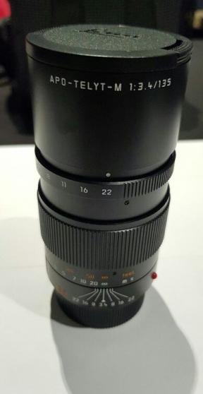 Annonce occasion, vente ou achat 'Leica APO-TELYT-M 135mm f/3.4 (Black) NE'