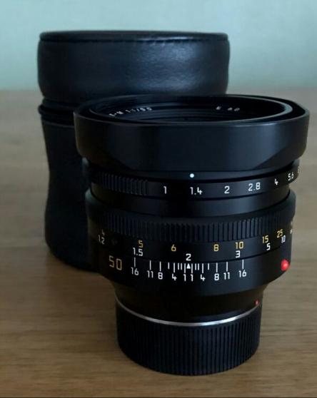 Annonce occasion, vente ou achat 'LEICA 50mm f/1 NOCTILUX-M Codé'