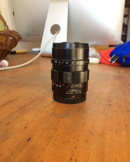 Annonce occasion, vente ou achat 'Objectif Voigtlander 25mm f/0.95'
