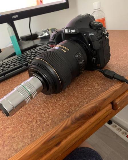 Annonce occasion, vente ou achat 'Nikon D850 + objectif NIKKOR 105mm VR'