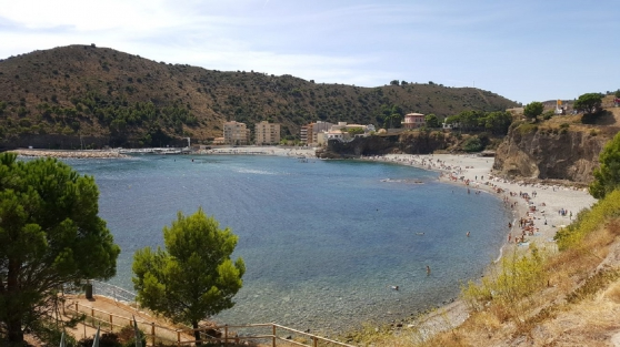 Espagne Costa Brava, Colera, maison