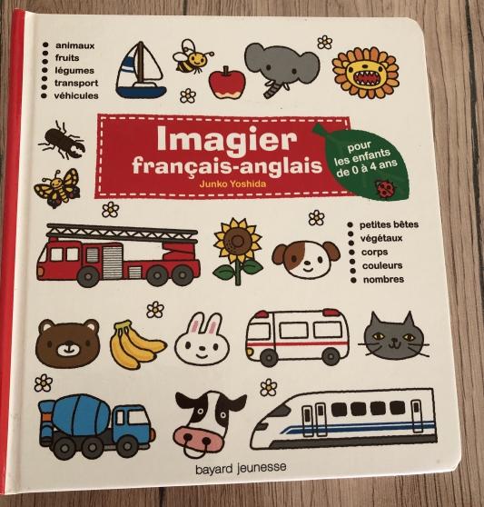 Annonce occasion, vente ou achat 'Imagier francais-anglais'