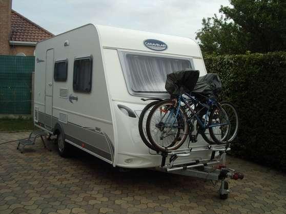 Caravane Caravelaire Ambiance CARAVANES CAMPINGCAR CARAVANES - Porte vélo caravane sur flèche