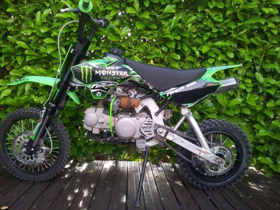 Ycf 125 Cc Monster Energy Cls à St Maximin La Ste Baume Moto