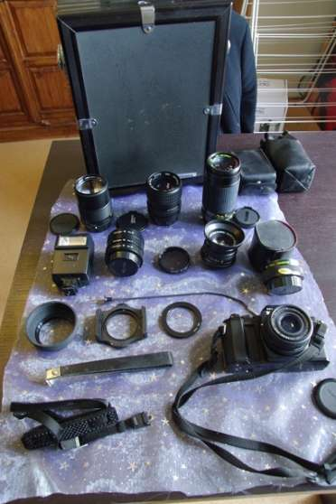 Annonce occasion, vente ou achat 'Lot Mamiya 24x36 et objectifs'