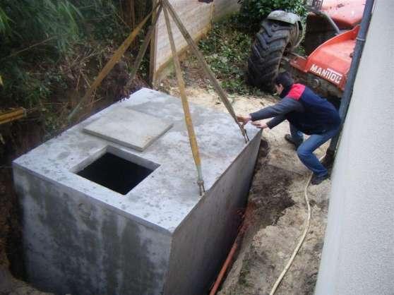Récupération d'eau 5800L (cuve)