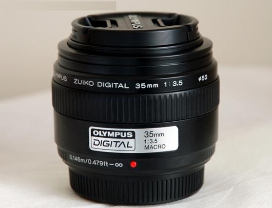 Objectif 35mm Macro Olympus
