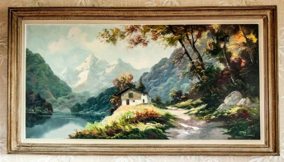 Peinture sur toile ivry sur seine antiquit art - Ivry sur seine code postal ...