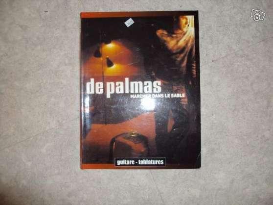 Partitions guitare G. DE PALMAS