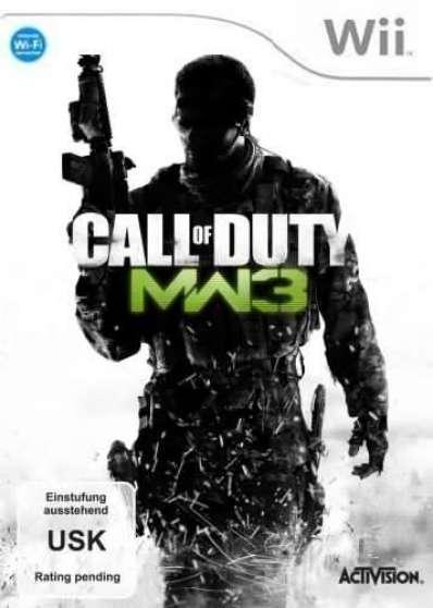 """Jeu WII neuf """" Call Of Duty : MW3"""""""