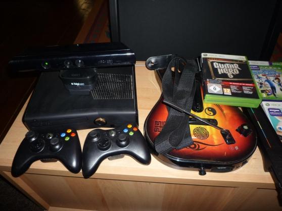 console de jeu XBOX 360 avec jeux et acc