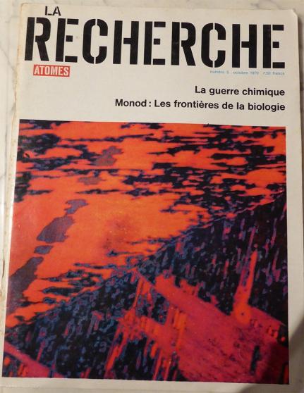 Annonce occasion, vente ou achat 'La Recherche : collection 1970-1970-2004'