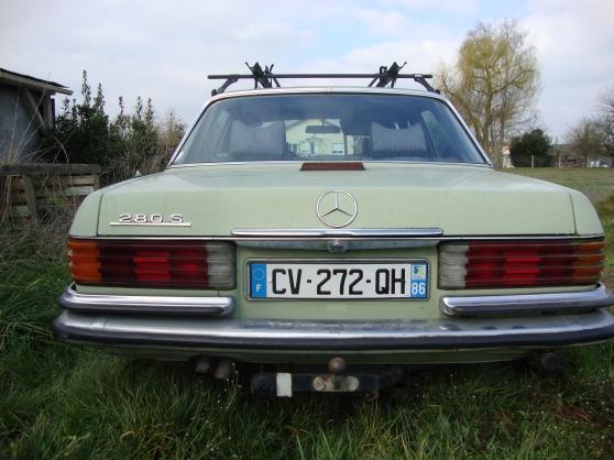 Mercedes 280s gpl essence ch tellerault auto mercedes for Code postal chatellerault