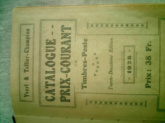 catalogue timbres