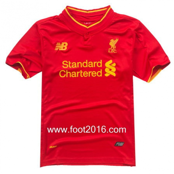 maillot Liverpool 2016-2017 domicile