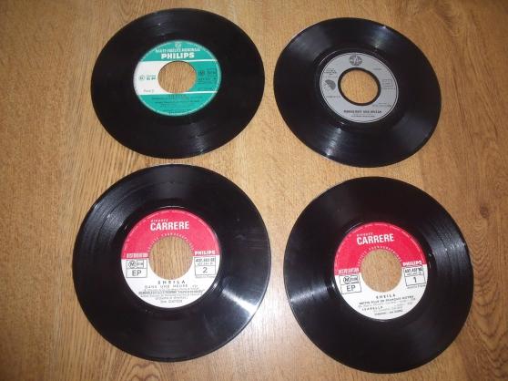 disque vinyles 45 tours sans pochettes - Annonce gratuite marche.fr