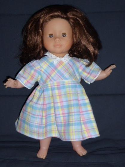 robe vintage multicolore pour poupée 36 - Annonce gratuite marche.fr