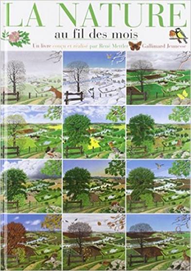 la nature au fil des mois - gallimard - Annonce gratuite marche.fr