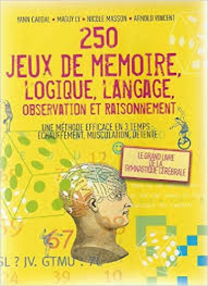 Annonce occasion, vente ou achat '250 JEUX DE MEMOIRE, LOGIQUE, LOGIQUE, L'