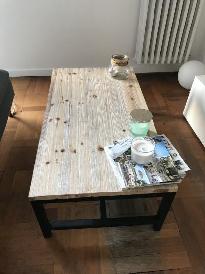 Annonce occasion, vente ou achat 'Table basse sapin massif excellent état'