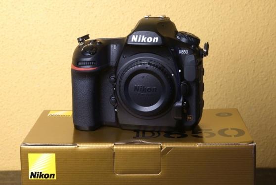 Annonce occasion, vente ou achat 'Nikon D850 45.7MP.DSLR'