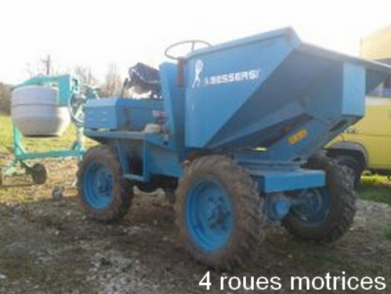Annonce occasion, vente ou achat 'Dumper Sambron Messersi Diesel 4 X 4'