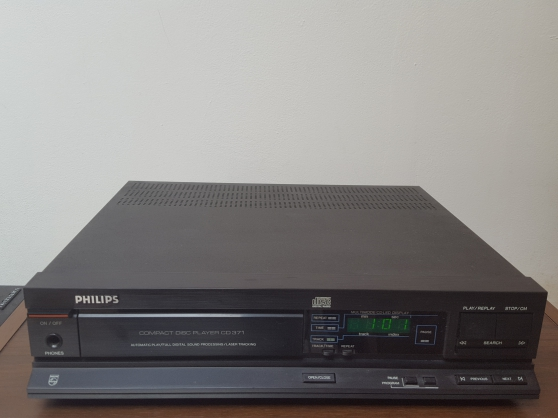 LECTEURS CD PHILIPS CD 371 CD Player