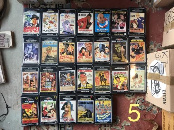 Vends 430 VHS (films anciens surtout)