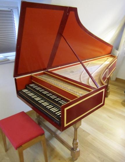Grand clavecin FR Double clav 415/440Hz