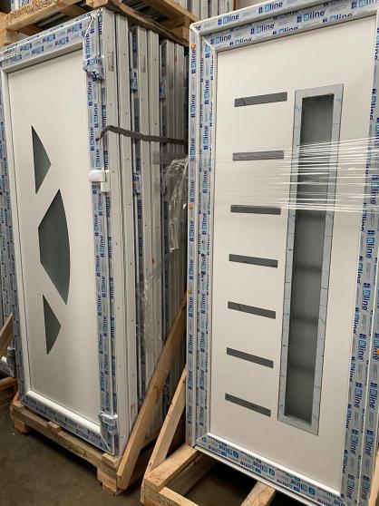 portes PVC/ALU haute de gamme