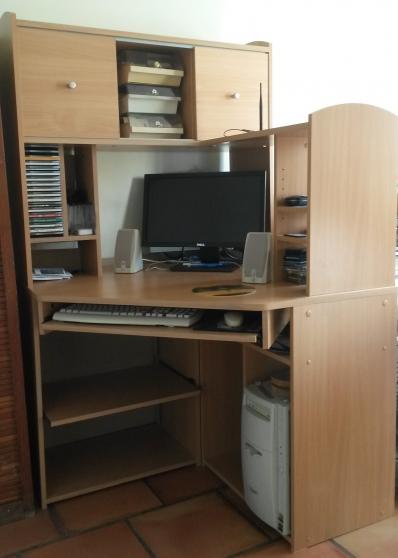 Annonce occasion, vente ou achat 'Vends meuble bureau'