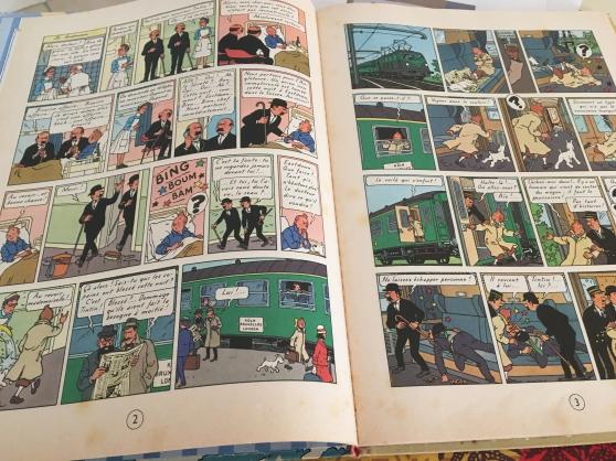 Album Tintin île noire édition 1966 - Photo 3