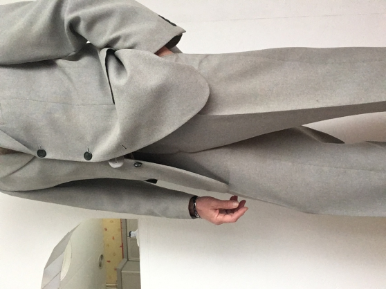 Costume gris perle taille L