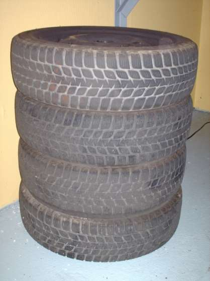 Roues thermogomme 155/65/14