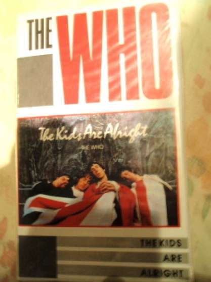 CASSETTES VHS THE WHO THE ROLLING STONE