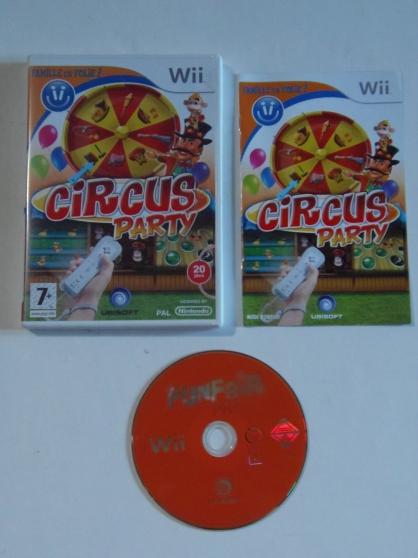 Jeu WII Circus Party (7+)