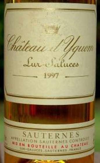 Château d'YQUEM 1991 - 1998 - 2002