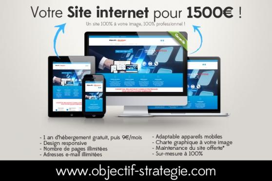 votre site internet pro ! création site