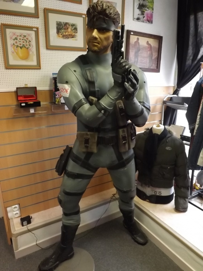 Statue métal gear 2