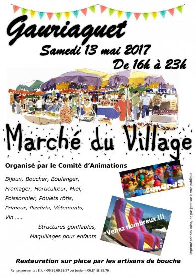 marché du village - Annonce gratuite marche.fr